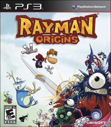 Rayman Origins Juego Digital Ps3