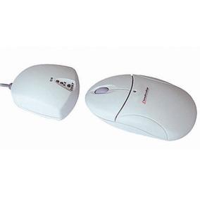 Mouse Sem Fio Leadership Branco Usb E Ps/2