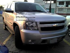 Chevrolet Suburban 2009 D Piel Aa Dvd Qc 4x4 Eng $ 47,600