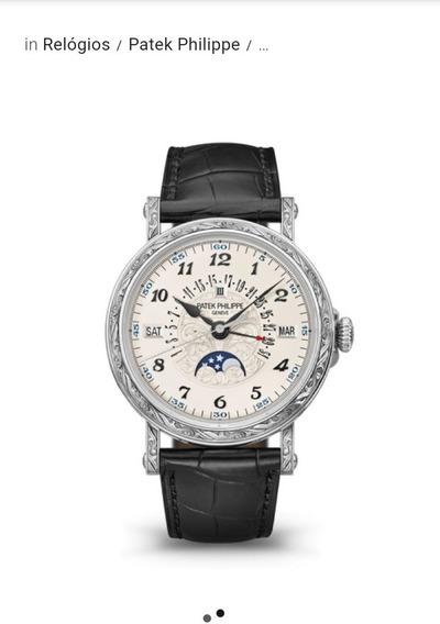 Relógio Patek Philippe Estados Unidos