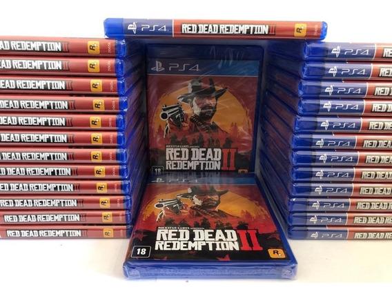 Jogo Red Dead Redemption 2 Ps4 Mídia Física Promoção