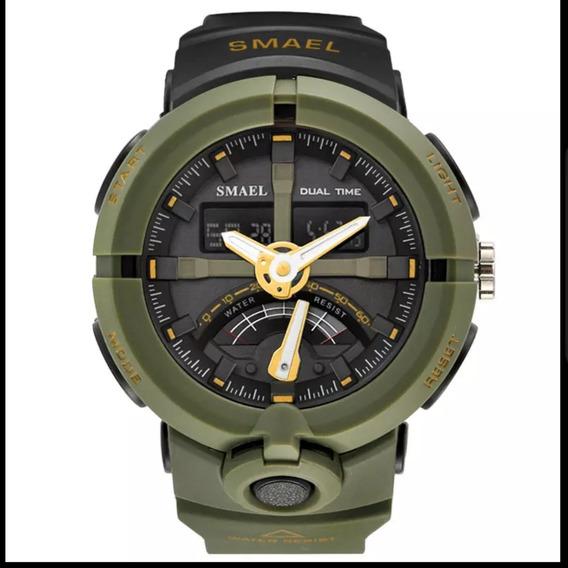 Relógio Masculino Smael Analógico Digital