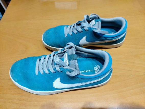 Zapatillas Nike Sb Niño Talle 37,5 Excelente Estado Hermosas