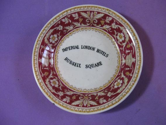 Antiguo Cenicero Imperial London Hotels. Londres, Inglaterra