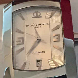 Relógio Baume & Mercier Automático Hampton Milleis Date X L
