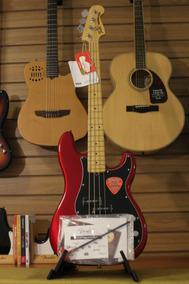 Baixo Fender American Special Precision Bass Apple Red Okm