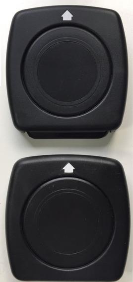 Porta Copo Retratil Carro Preto Kit 2 Unidades