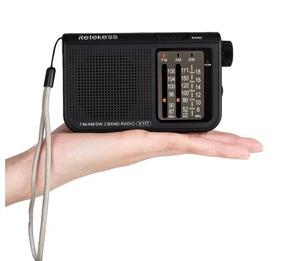 Radio Portatil Retekess Banda Am/fm/sw