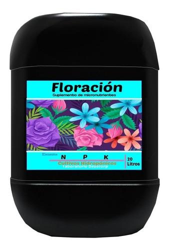 Floración Micronutrientes Hidropónicos ( N P K )x 20 Litros
