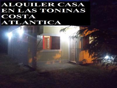 Av.7 Casa Las Toninas A 3 Cuadras Del Mar , Cerca De Todo ,