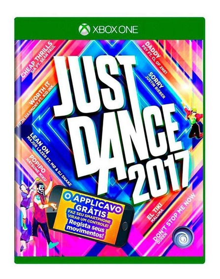 Just Dance 2017 Xbox One Mídia Física Pronta Entrega