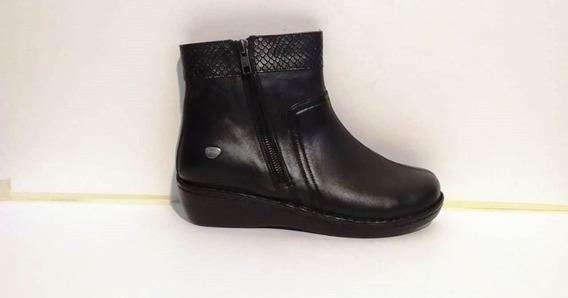 Bota Cavatini 52-1588 Mujer Cuero Negro