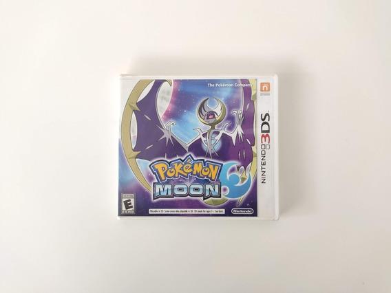 Pokemon Moon Nintendo 3ds 2ds Completo Americano