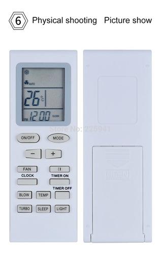 Control Remoto Para Aire Acondicionado Olimpo Forro+pilas
