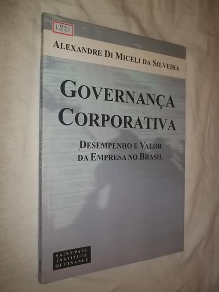 Livro - Governança Corporativa - Alexandre Di Miceli