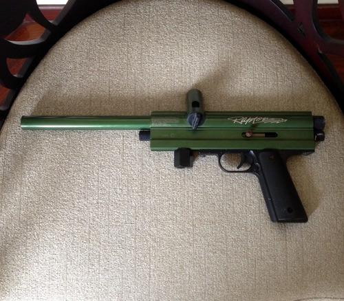 Pistola/marcador De Paintball Brass Eagle Raptor.