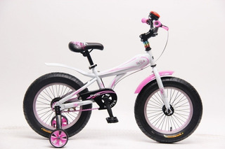 Bicicleta Niños Sbk Fat Bike Rodado 12
