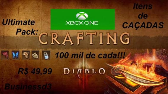 Diablo 3 Ros - Xbox One - 1 Milhão - Mat. Dos Atos-caçadas!