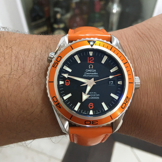 Omega Seamaster Planet Ocean 600 Co-axial 45,5mm Completo