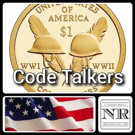 Nativa Americana 2016 - Code Talkers- Eeuu Sacagawea Dollar