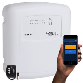 Central Alarme Wifi Ecp Internet Wireless App Ios Android