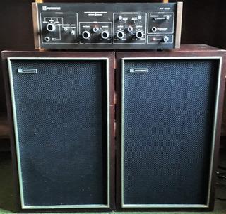 Audinac Amplificador At 510 - 2 Parlantes Modelo 721