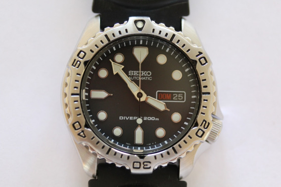 Seiko Scuba Diver Automático Skx171 7s26 7020 Zero My610