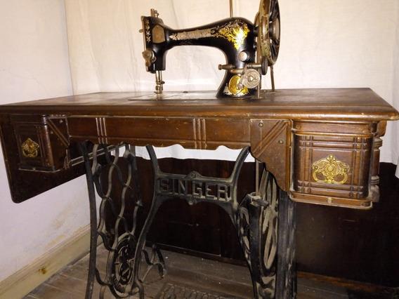 Maquina De Coser Singer Año 1904 Colección
