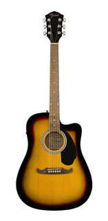 Fender Guitarra Acústica Fa-125ce Dreadnought, Walnut