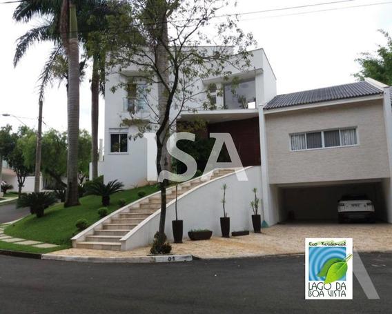 Casa Venda, Condomínio Lago Da Boa Vista, Sorocaba, Sobrado 4 Suítes, Escritório, Sala Dois Ambientes, Sala Tv, Cozinha, Piscina - Cc02383 - 34466611
