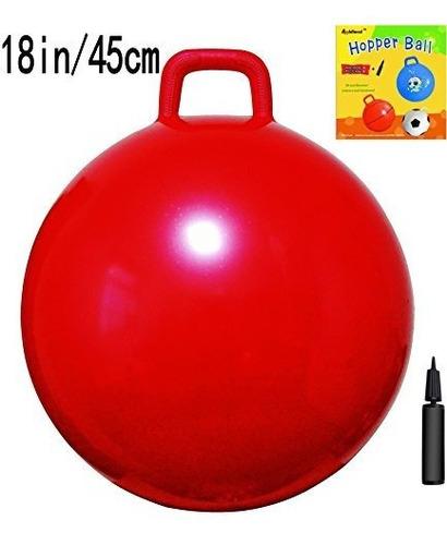 Imagen 1 de 5 de Appleround Space Hopper Ball Con Bomba, 18 Pulgadas / 45 Cm