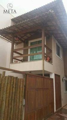 Casa Residencial Para Venda E Locação, Riviera Fluminense, Macaé. - Codigo: Ca0322 - Ca0322