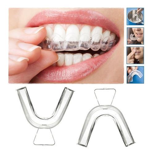Kit Com 4 Moldeiras Clareamento Dental Frete Grátis Bruxismo