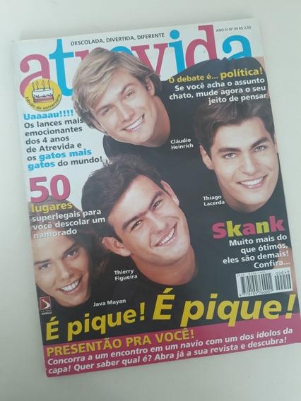 Revista Atrevida 49 - Thiago Lacerda Cláudio Heinrich Thierr
