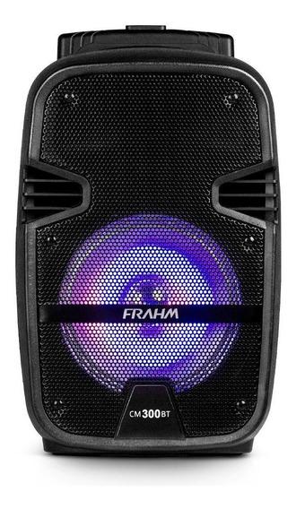 Caixa De Som Amplificada Frahm Cm300 Bt Usb Fm 300w Portátil