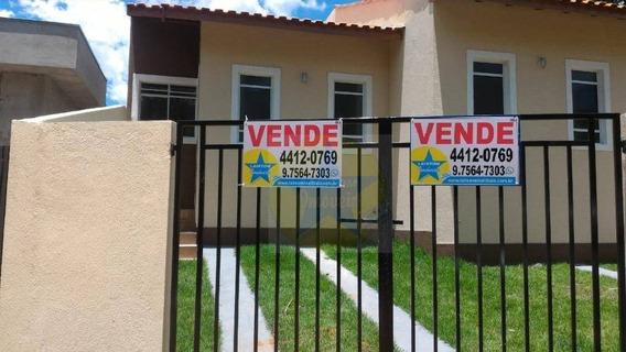Casa Térrea À Venda Em Atibaia Sp - Programa Minha Casa, Minha Vida! - Ca1603