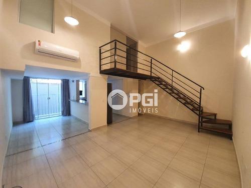 Imagem 1 de 19 de Loft Com 1 Dormitório, 70 M² - Venda Por R$ 360.000,00 Ou Aluguel Por R$ 1.900,00/mês - Jardim Nova Aliança Sul - Ribeirão Preto/sp - Lf0012