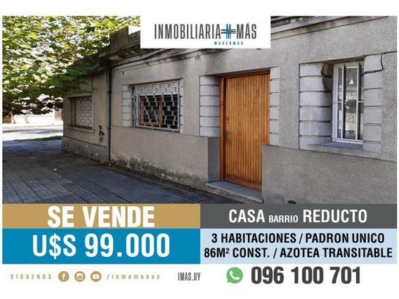 Casa Venta Reducto Montevideo L #