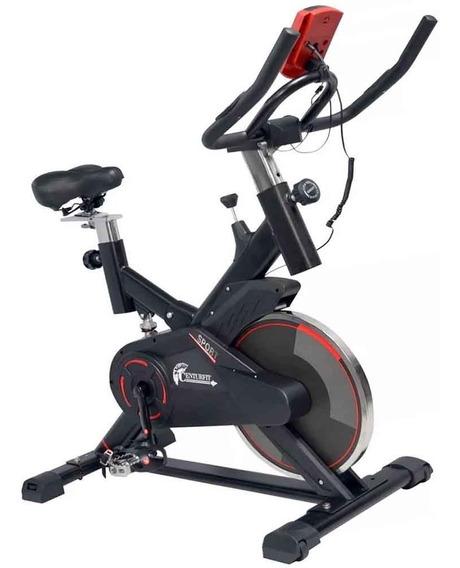 Bicicleta Spinning 15kg Gym Fija Centurfit Hogar Cardio