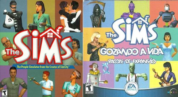 The Sims 1 + The Sims Gozando A Vida Expansão Midia Digital
