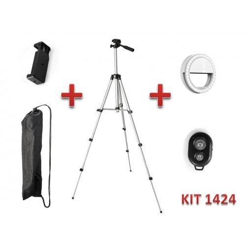 Trípode + Anillo Luz + Base Cell + Bulto Kit1424