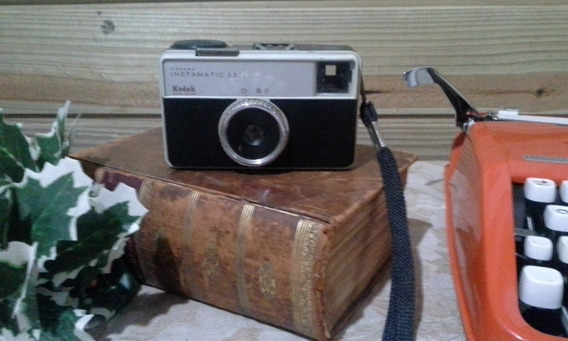 Antiga Camera Fotográfica Kodak Instamatic 33