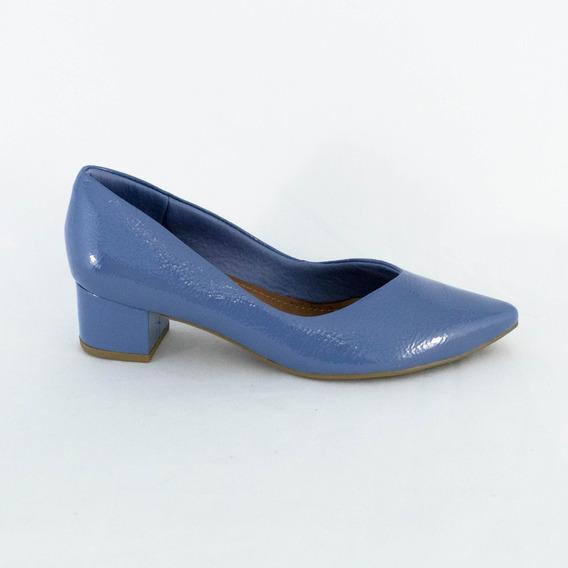 Sapato Usaflex Aa4303 Verniz Original