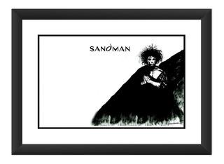 Quadro Sandman Hq Desenho Gibi Arte Decoracao Filme Game Tv