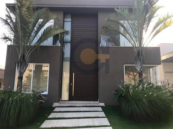 Tamboré 10 | Casa Nova | Pronto Para Morar | Piscina Com Borda Infinita | 4 Suítes Com Closet - Cnc1046