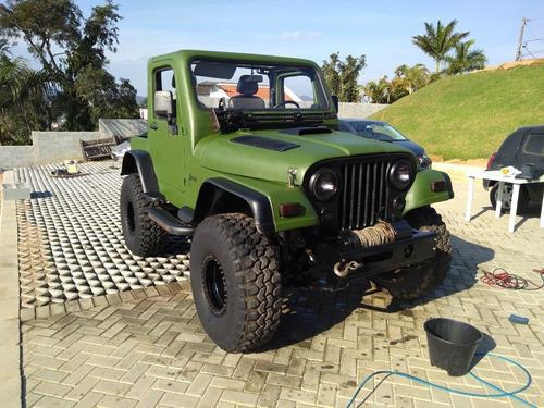 Jeep Willys Cj5 1957 Mwm 2.8 Diesel