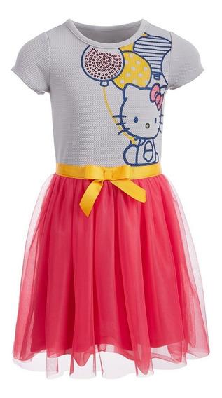 Vestido Hello Kitty 6 Años Original.·:*¨¨*:·.hermoso!