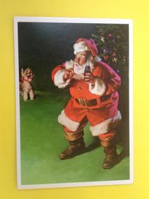 Cartão Postal Natal Da Coca-cola Do Papai Noel Original (04)