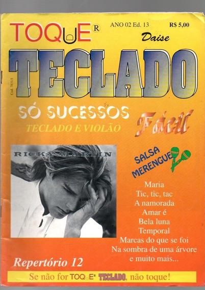 Revista Toque Teclado Só Sucessos Fácil (8084)