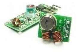Radio Freqüência 433mhz Transmissor + Receptor Arduino